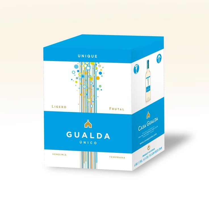 Caja 6 botellas Gualda Único.  Casa Gualda.