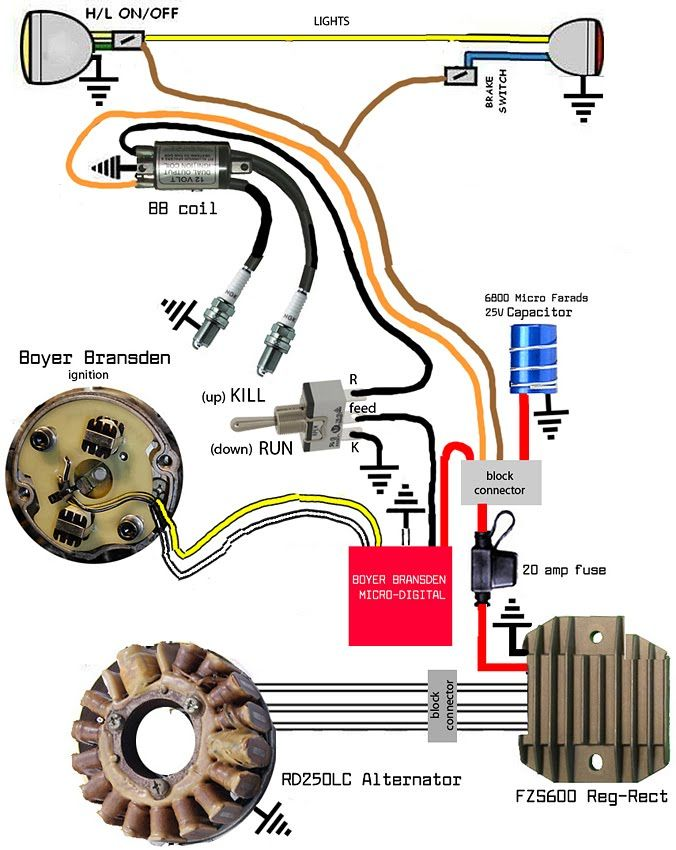 Enchanting Custom Chopper Wiring Diagram Pictures Electrical and