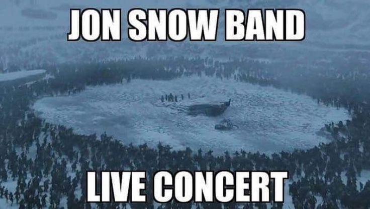Jon Snow band live concert