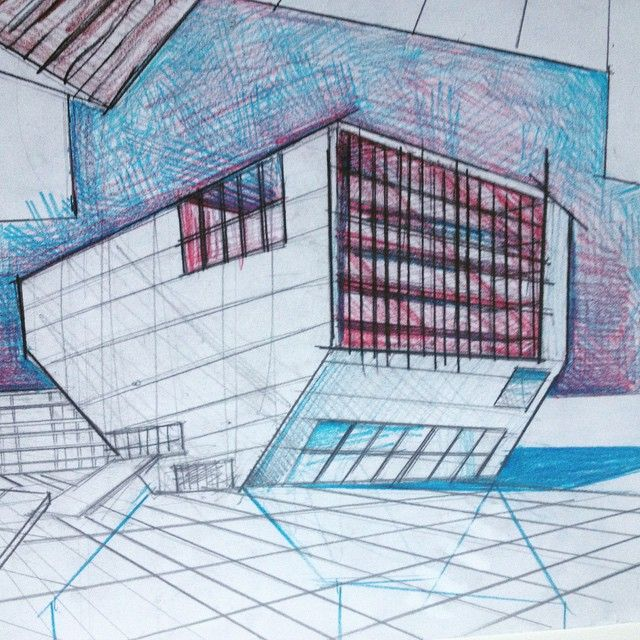 Name this famous building by Rem Koolhaas. Follow me for more tips on architectural drawing and design
