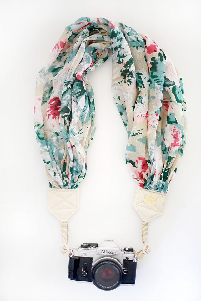 "Bloom Theory ""Sangria"" Camera Strap, $69.00"