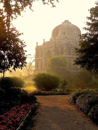 lodhi gardens, delhi, india | islamic architecture http://www.heathermullinsowens.com