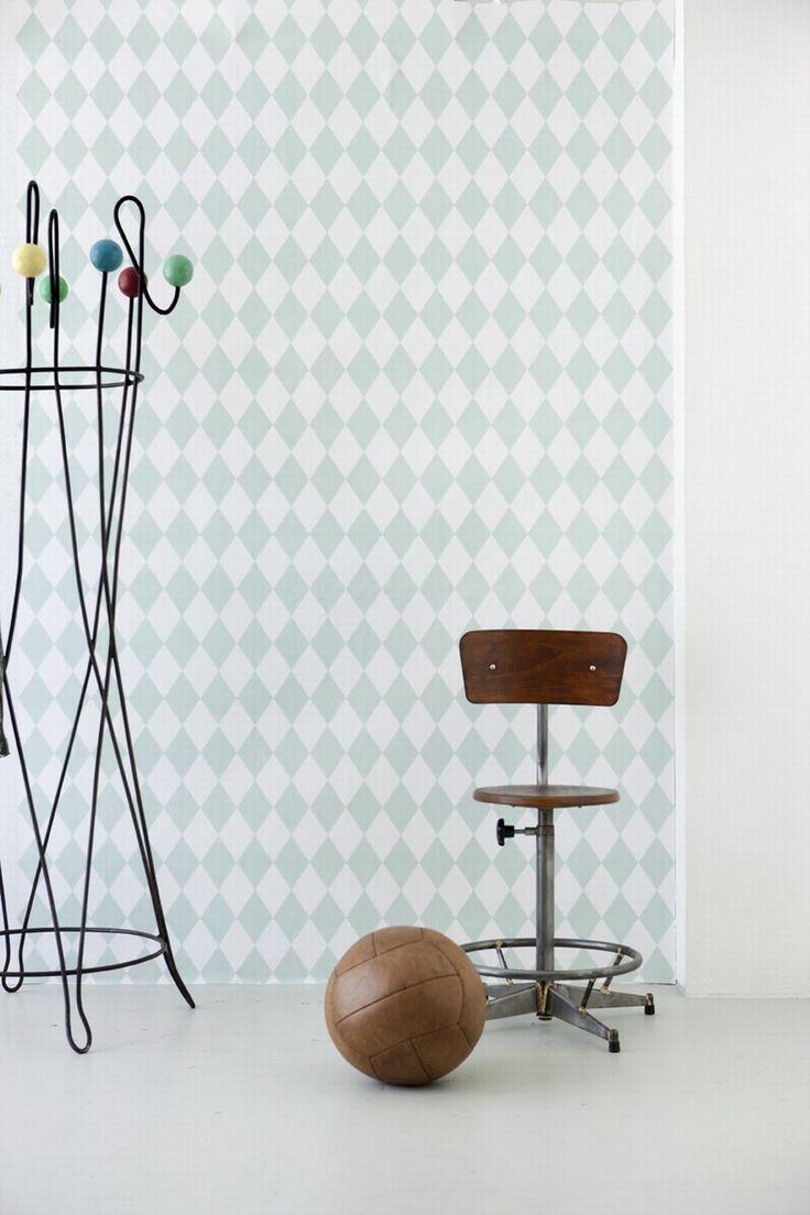 Papier Peint Ferm Living - Harlequin - Ferm Living, Mes Habits Chéris - kidstore Récréatif - Décoration enfant