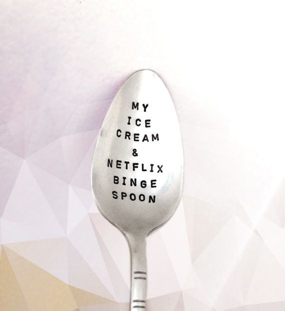 This engraved spoon that will surely become your best friend. | 22 Cute Products Anyone Who Is Lazy AF Will Want