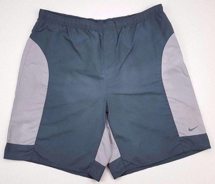 NIKE Swim TRUNKS Mens XL Multicolor COLORBLOCK Green SIZE Man SZ Bathing SUIT*** #Nike #Trunks