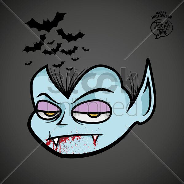 vampire Stock Vector