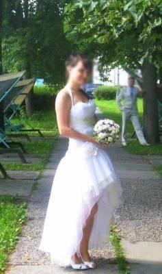 Свадебная сумочка сшитая на заказ под платье