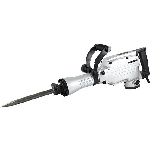 Special Offers - TR Industrial TR89100 Electric Demolition Jackhammer with 3 Bits Point Flat Scoop Shovel Spade and Chisels Silver 4-Piece - In stock & Free Shipping. You can save more money! Check It (April 13 2016 at 01:42PM) >> http://hammerdrillusa.net/tr-industrial-tr89100-electric-demolition-jackhammer-with-3-bits-point-flat-scoop-shovel-spade-and-chisels-silver-4-piece/