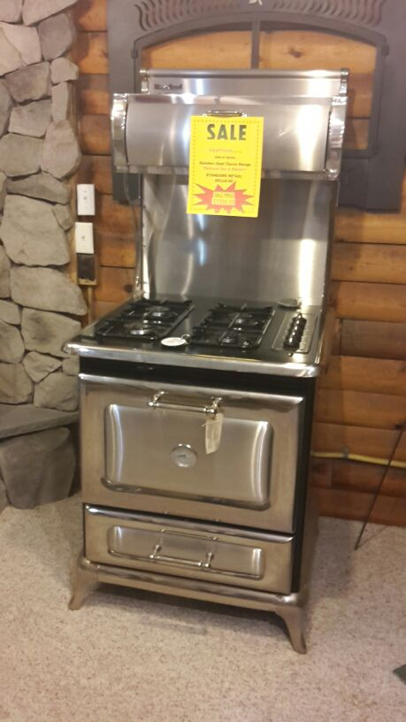 Refurbished Vintage Electric Stoves ~ Best ideas about gas stove fireplace on pinterest