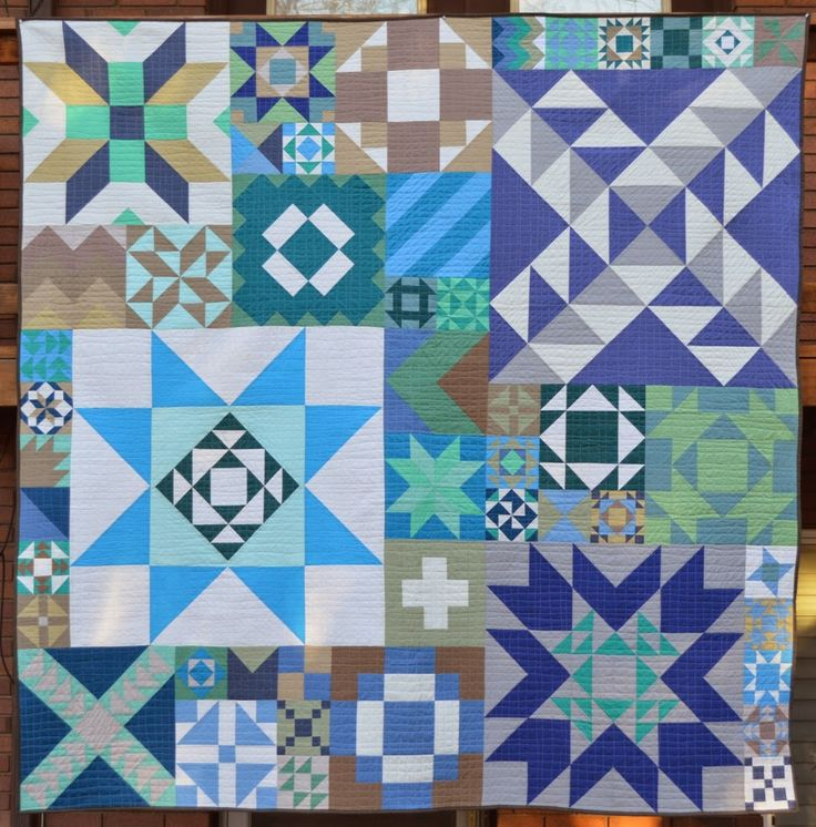685 best Quilts: Cotton (Pieced, Appliqued, Etc.) images on ... : how to put a quilt together - Adamdwight.com