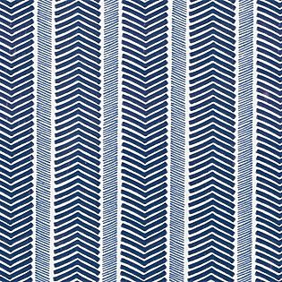 Herringbone Wallpaper – Navy/Denim | Serena & Lily - walls for bath off office