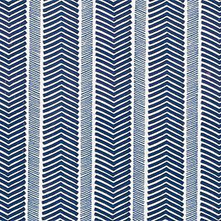 Herringbone Wallpaper – Navy/Denim | Serena & Lily - walls for bath off office