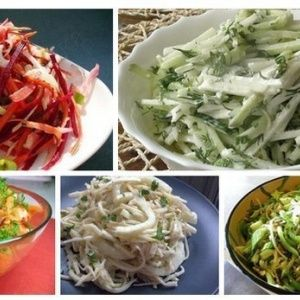 8 салатов для похудения