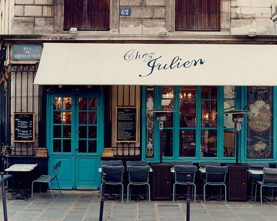 French Kitchen Decor Chez Julien Paris by EyePoetryPhotography