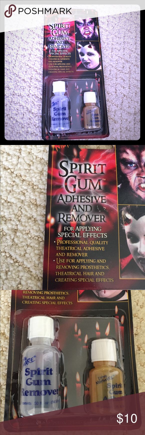 Adhesive remover This is used for adding and removing special effects to yourself when creating a costume during Halloween Living Nightmare Accessories