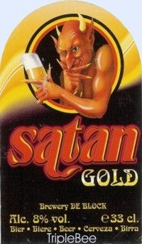Label van Satan Gold