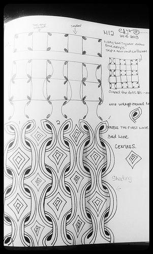 zentangle pattern MI 2 mimi lempart