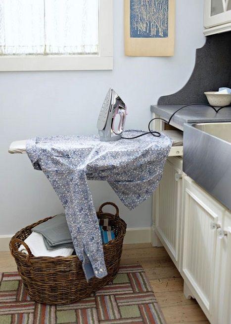 15 способов вписать гладильную доску в интерьер. Всë гениальное – просто!