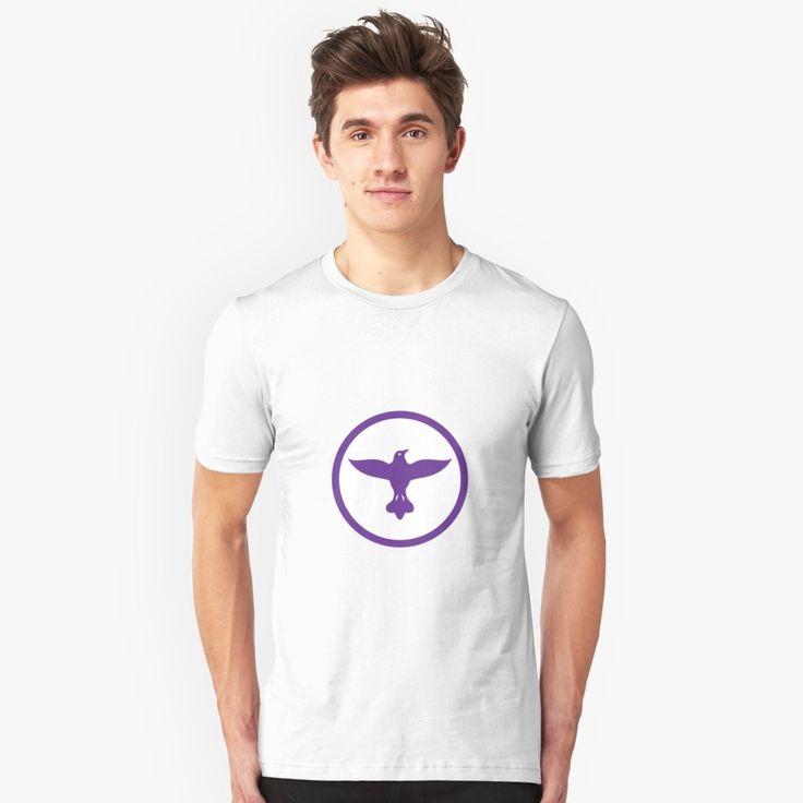 """Dove Spreading Wings Circle"" Unisex T-Shirt by patrimonio   Redbubble  #dove #pigeon #tshirt"