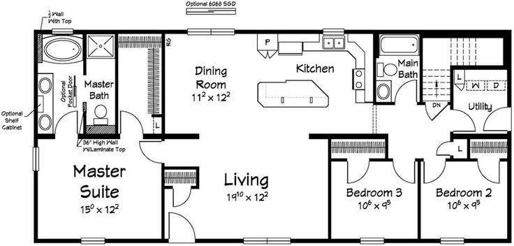 Custom Home Floor Plans With Basement: 25+ Best Ideas About Custom Modular Homes On Pinterest