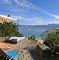 in Belvédère-Campomoro: 3 Schlafzimmer, für bis zu 6 Personen. Ferienhaus direkt am Strand | FeWo-direkt