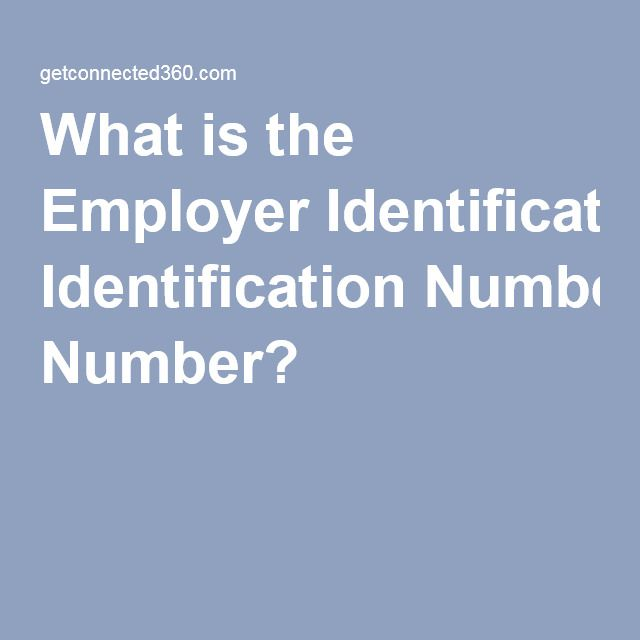 What is the Employer Identification Number?