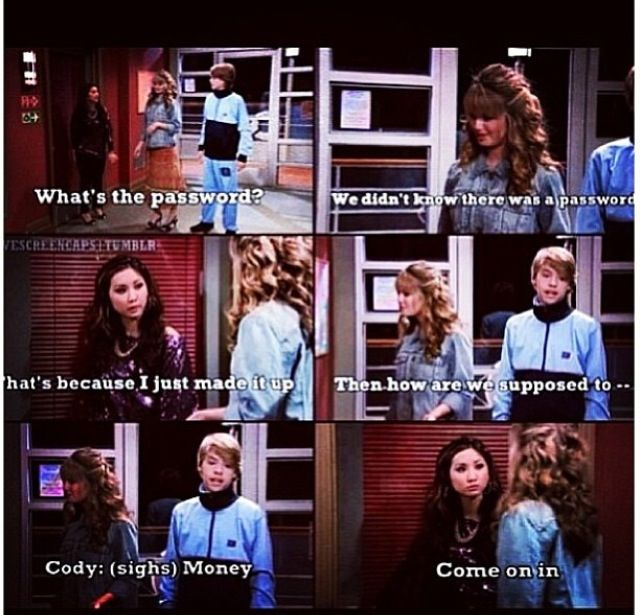 Suite Life on Deck I'm watching this episode right now!
