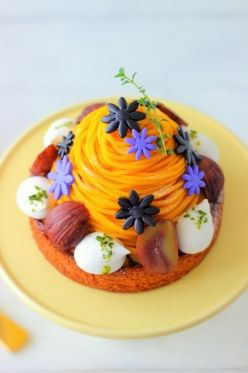 Halloween tart in Suites powder of soy flour and Beikoji