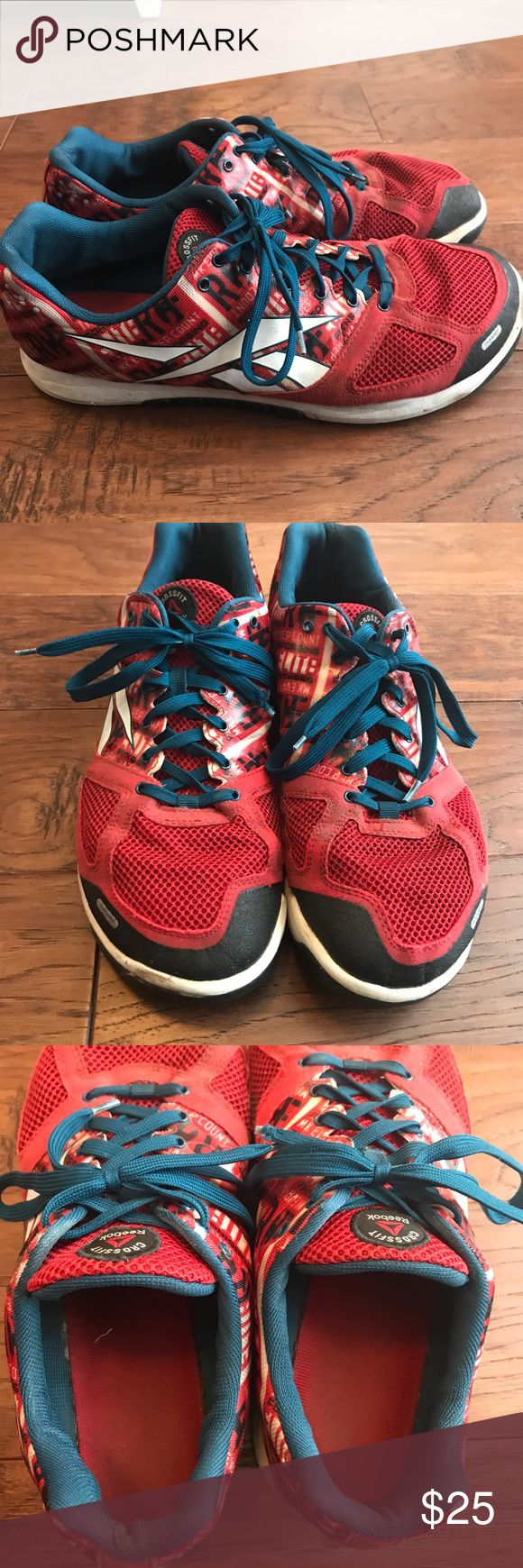 Reebok Men's Nano 2 red Crossfit shoes size 11.5 These are the most favorite Nano for many! These are a size 11.5 and have been used but still have life left in them. They have been priced accordingly to their wear. Comes from a smoke free home and I ship FAST! Reebok Shoes Athletic Shoes
