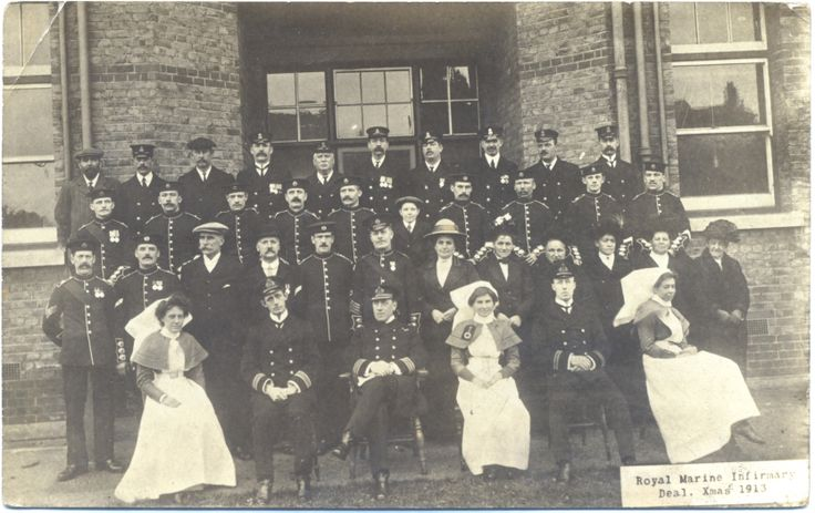 Naval Doctors, Nurses and Orderlies. Great War.