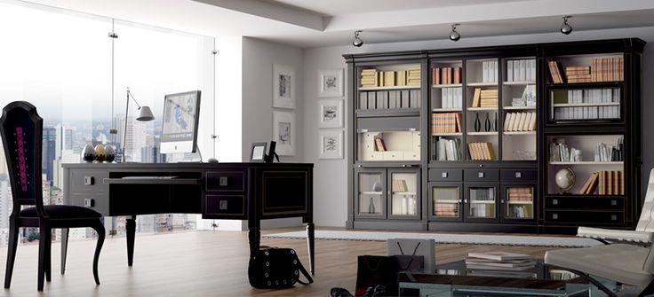 Despacho clásico, elementos de toda la vida con un acabado varonil