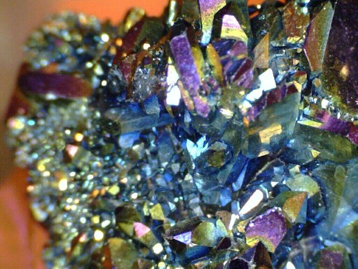 Crystals And Minerals Titanium Crystals Wonderworlds