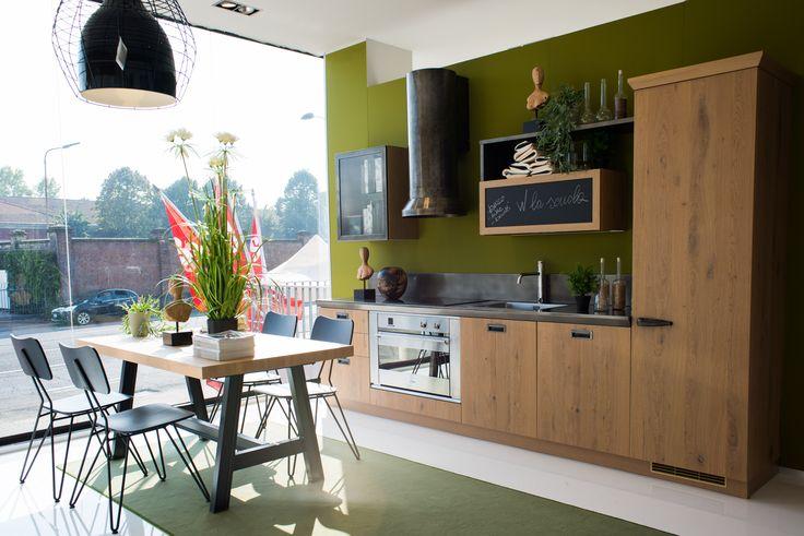 Cucina Scavolini - Diesel Social Kitchen - in esposizione nello Store di Piacenza