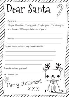The 25 best free printable santa letters ideas on pinterest free printable santa letter spiritdancerdesigns Images