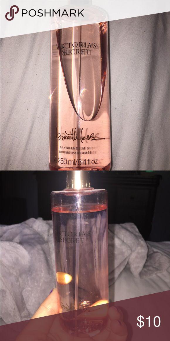 Vitoria secret - breathless lightly used still a lot left PINK Victoria's Secret Other