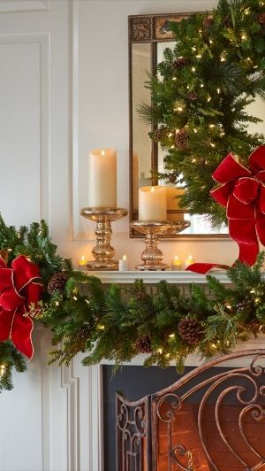 Christmas Interiors 595 best christmas..mantles images on pinterest | merry christmas