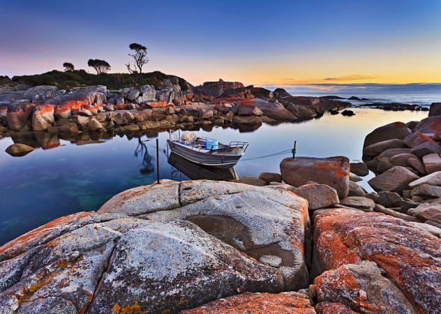 Tasmania Binalong fishing boat