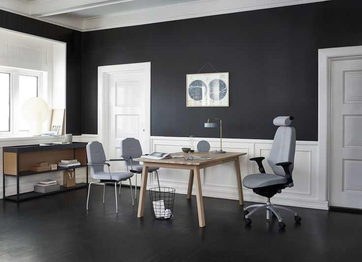 RH Logic alliance with RH Visit for a perfect office #InspireGreatWork #design #office #Scandinavian