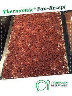 Maulwurfkuchen vom Blech von vapo30. Ein Thermomix ® Rezept aus der Kategorie B...