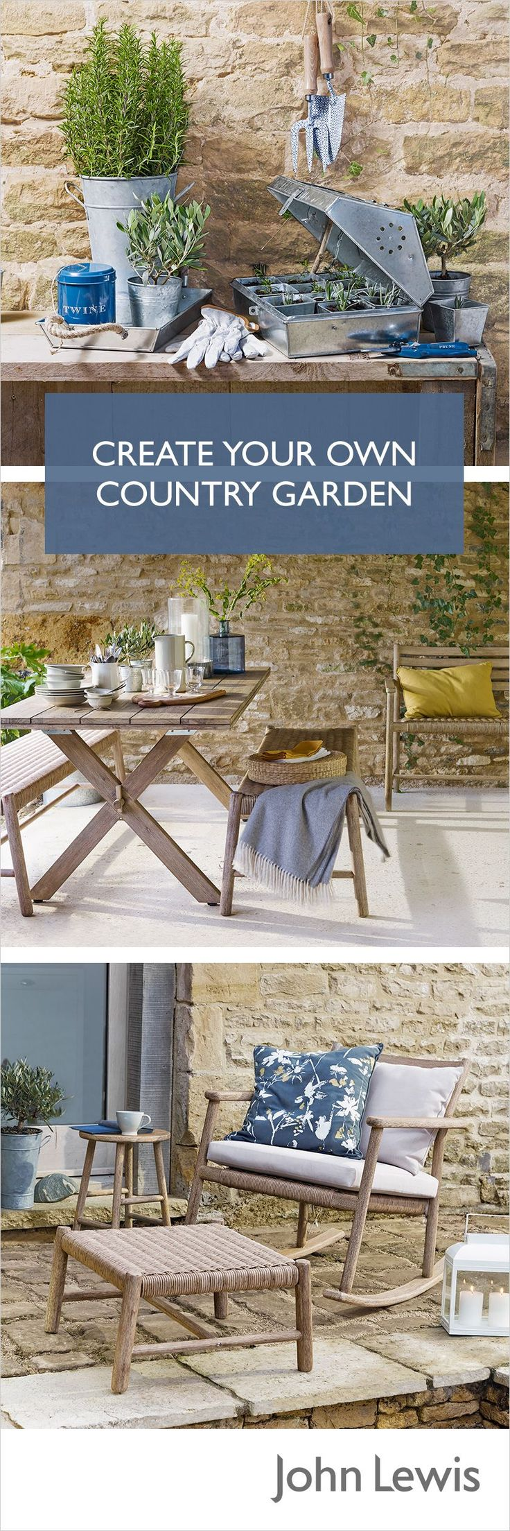 383 best Garden Furniture images on Pinterest   Lawn furniture ...