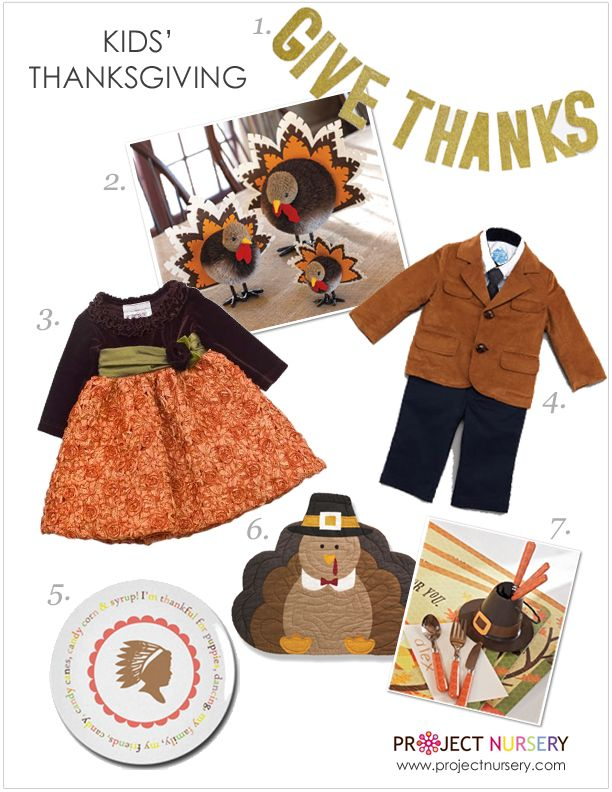 Kids' Must-Haves for Thanksgiving - #projectnursery