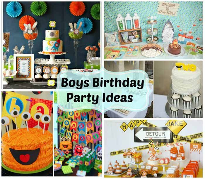 Boys Birthday Party Ideas Weekly Roundup Boy Birthday Parties Boy Birthday 1st Birthday Parties