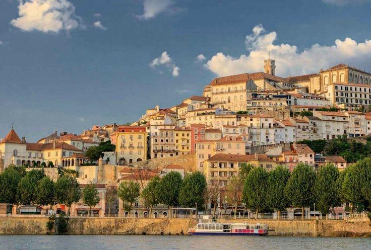 Coimbra vanaf de rivier