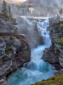 Athabasca Falls, Jasper, Canada