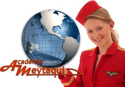 Te gustaría trabajar de azafata? Descubre ese curso para azafatas de vuelo y de ferias y empieza a viajar y conocer nuevas personas y culturas diferentes!