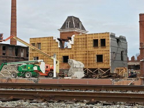 Mockingjay Set Photos – the ruins of District 12?