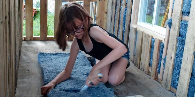 9-Year-Old Builds Small Shelters For Local Homeless People