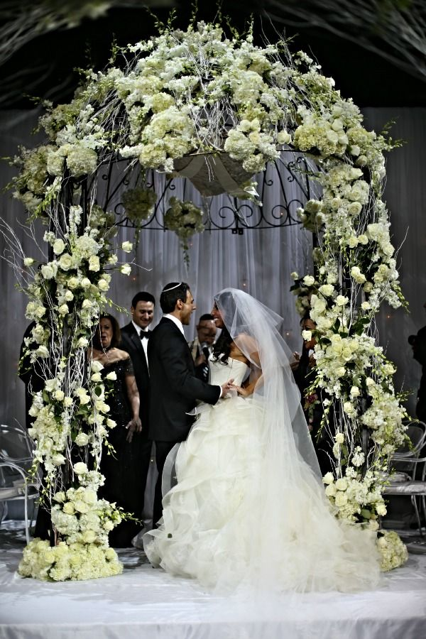 Glamorous White Chuppah, Huppah NYC {Capitale, Anthony ...