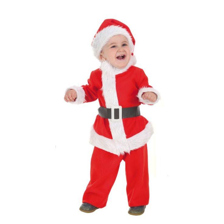 disfraz baby noel bebe talla xs a meses