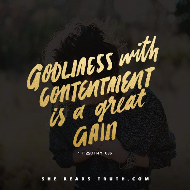 Day 12 of the Philippians reading plan from She Reads Truth | The Secret of Contentment Join us at SheReadsTruth.com or on the SRT app!